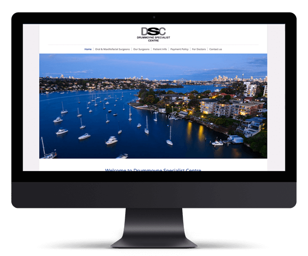Drummoyne Specialist Centre WordPress Website Design and Development