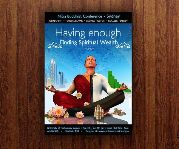 Mitra Poster Design