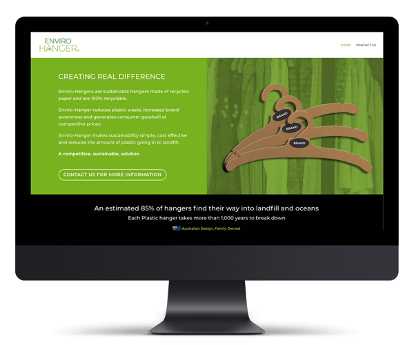 Enviro Hanger WordPress Website Design and Development