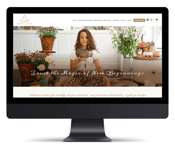 Angela da Silva WordPress Website Design and Development